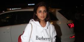 Airport Diaries: Parineeti Chopra keeps it simple as she sports a comfy outfit