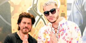 DJ Snake calls Shah Rukh Khan a 'Legend' as they pose together; See pic