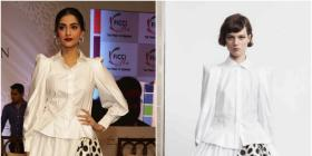 Sonam Kapoor wears a monochrome look by Dice Kayek : Yay or Nay?
