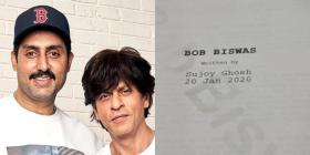 Abhishek Bachchan starts prepping for 'Bob Biswas' produced by Shah Rukh Khan; shares a sneak peek
