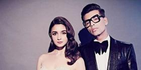 Alia Bhatt pens heartfelt message for her 'father' Karan Johar; Wishes him moments of love, laughs & movies