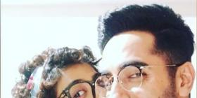 Ayushmann Khurrana gets a peck on the cheek from wifey Tahira, tags him as a 'lovely human' on his birthday