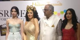 EXCLUSIVE: Boney Kapoor remembers Sridevi post visiting Madame Tussauds Singapore with Khushi & Janhvi Kapoor
