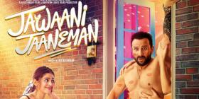 Jawaani Jaaneman New Poster: Saif Ali Khan gets caught in the act and Alaya F enjoys the scene