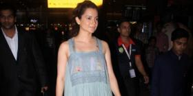PHOTOS: Kangana Ranaut opts for a casual boho dress for her airport look as she returns to Mumbai