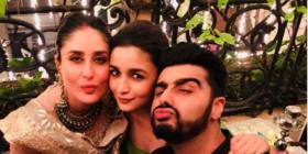 Kareena Kapoor Khan, Alia Bhatt, Arjun Kapoor's PIC reminds us of times when social distancing was not a thing
