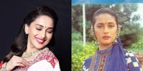 Happy Birthday Madhuri Dixit: Here's looking at throwback pics from the actress' childhood, teenage to movies