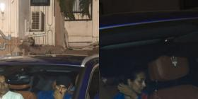 PHOTOS: Malaika Arora and Arjun Kapoor twin in blue as they attend Chunky Pandey's dinner party