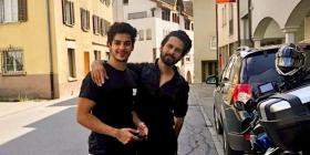 Ishaan Khatter is all hearts for 'Bhaijaan' Shahid Kapoor as he shares cool photos from their road trip