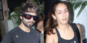 PHOTOS: Shahid Kapoor & Mira Rajput hit the gym together after partying with Katy Perry at Karan Johar's house
