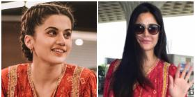 Fashion Faceoff: Katrina Kaif or Taapsee Pannu: Who looked better in the red boho top?