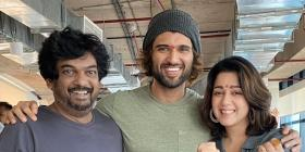 Vijay Deverakonda's VD10 presented by Karan Johar's Dharma Productions and Puri Jagannadh goes on floors