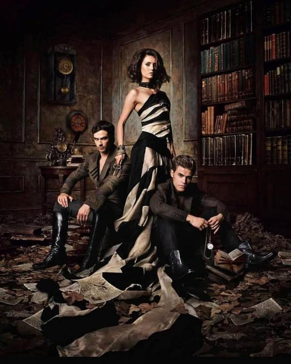 10 years ago, we got to see Elena Gilbert, Damon Salvatore and Stefan Salvatore for the very first time.