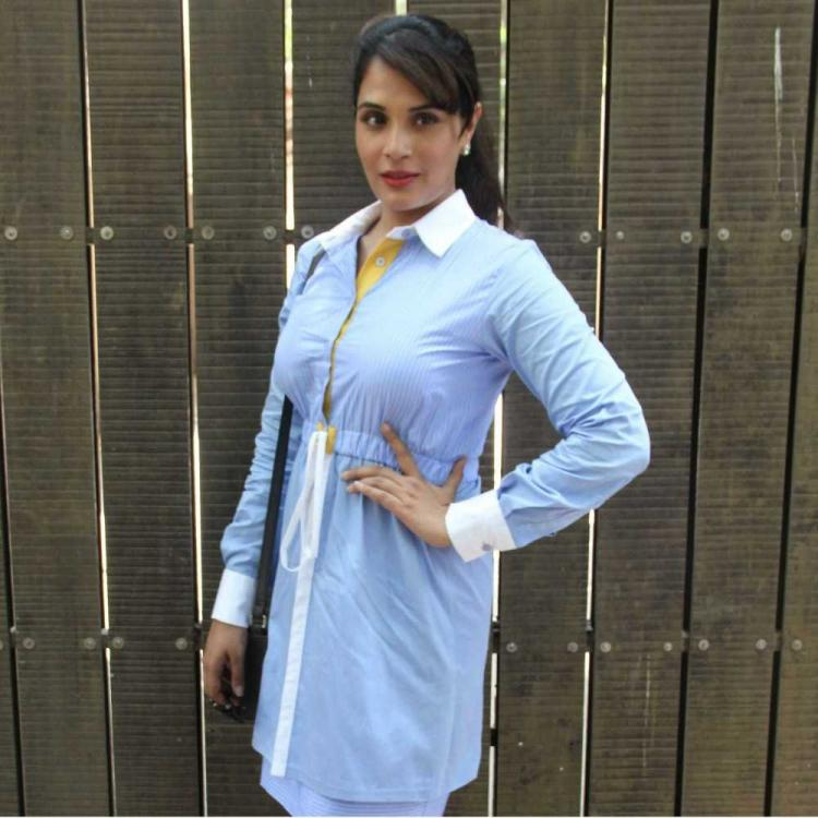 Richa Chadha is all geared up to play a lawyer on-screen