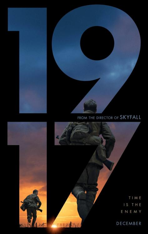 1917 released in India today, i.e. January 17, 2020.
