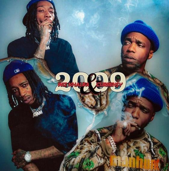 Rappers Wiz Khalifa and Currensy finally unveil long awaited joint project titled '2009'