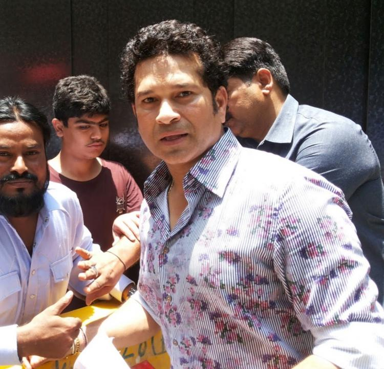 ICC World Cup 2019 : Sachin Tendulkar says Pakistan has a very potent fast bowling line-up