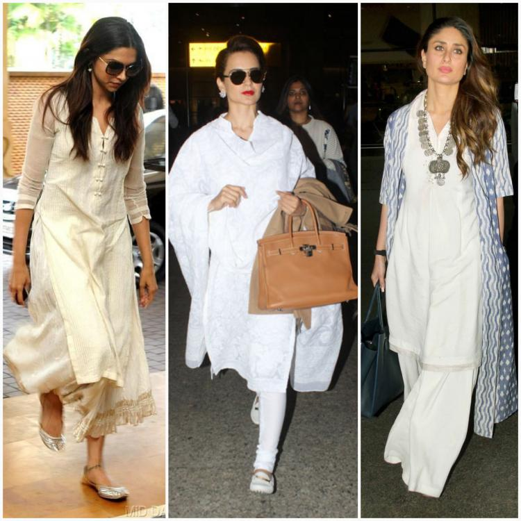 Celebrity Style,bollywood,trending,bollywood celebrity,white kurtis,obsession