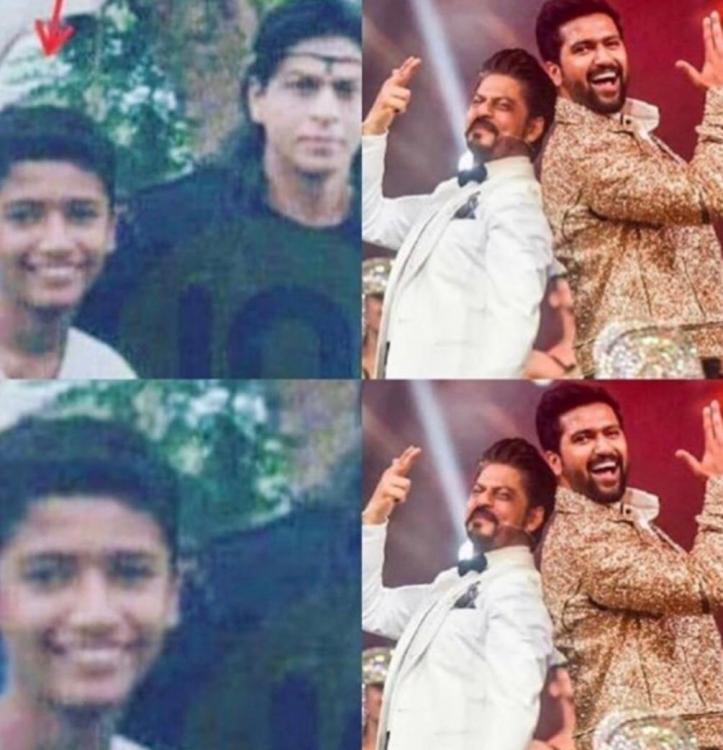 Vicky Kaushal shares a MAJOR throwback picture with Shah Rukh Khan; Says dreams do come true