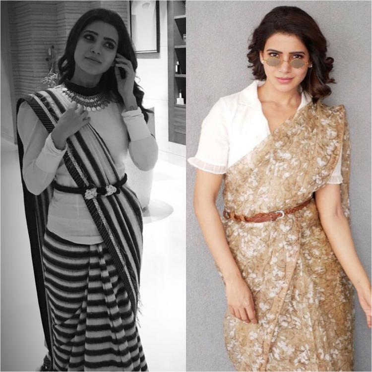 5 Times Samantha Akkineni proved nobody can don sarees and blouses with a twist better than her