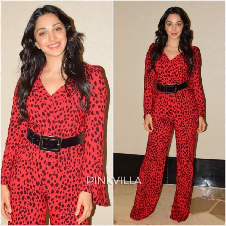 Kiara Advani in an animal print suit for Kabir Singh's promotions; Yay or Nay?