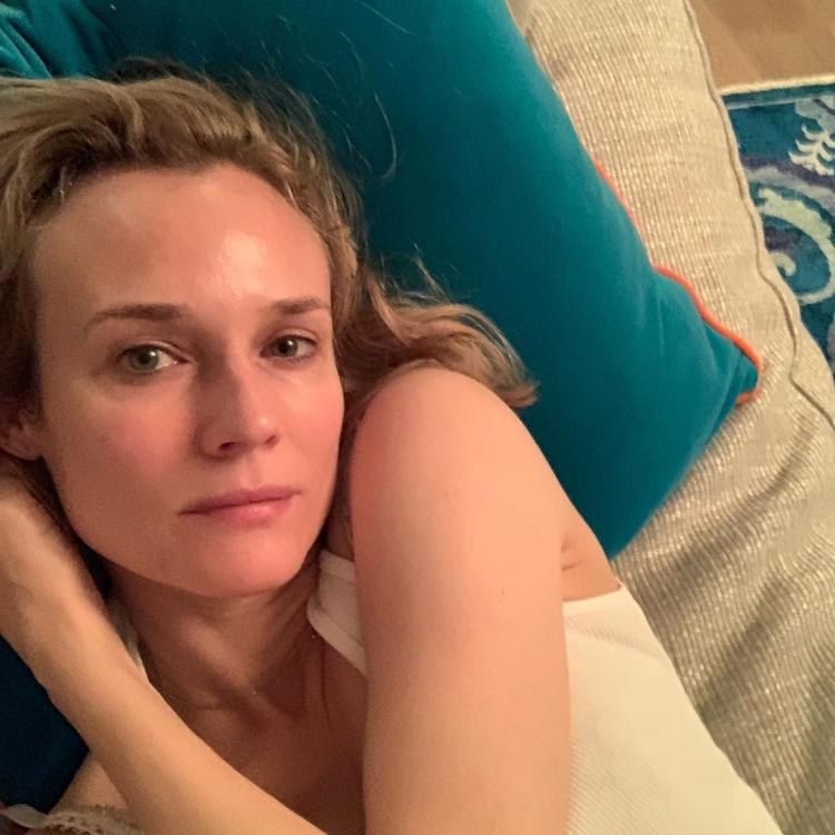 Here's why Diane Kruger is grateful to have a daughter