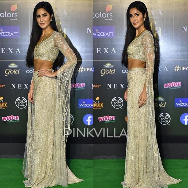 Katrina Kaif's green carpet look has left us CONFUSED; Check it out