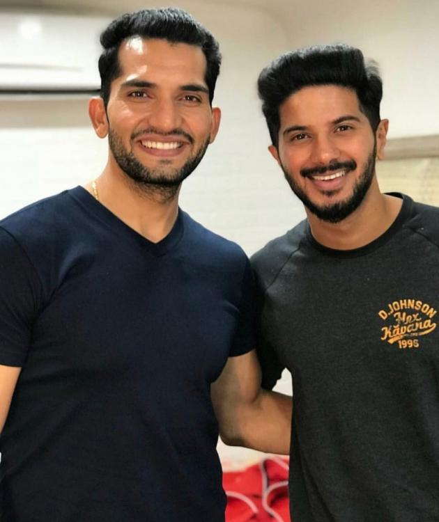 Dulquer Salmaan a lovely person and a talented actor says The Zoya Factor co star Abhilash Chaudhary
