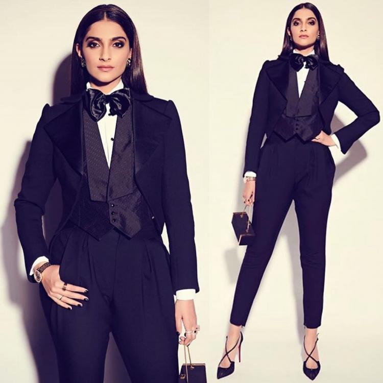 Sonam Kapoor is giving all the men a run for their money in a stunning power look; Check it out