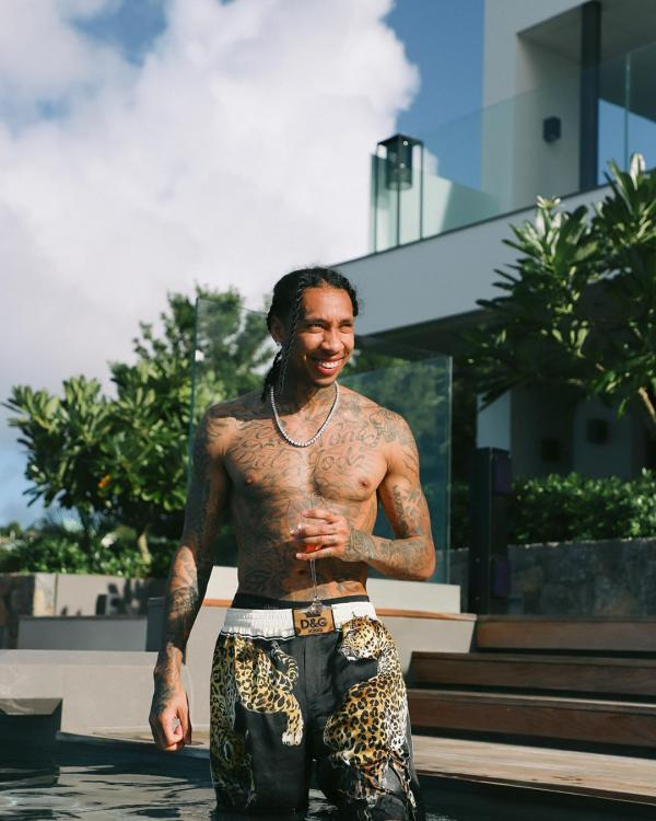 Tyga was infused with infectious energy and fun vibe in Mumbai