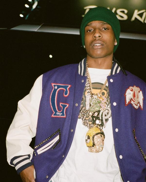 Rapper A$AP Rocky bags his first big live gig after his incarceration; Deets Inside