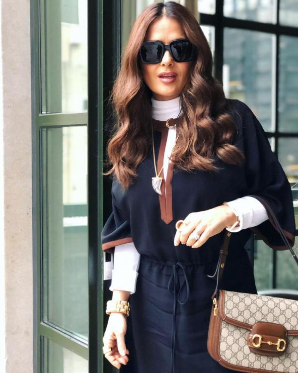Salma Hayek speaks about the time she suffered injuries by a monkey