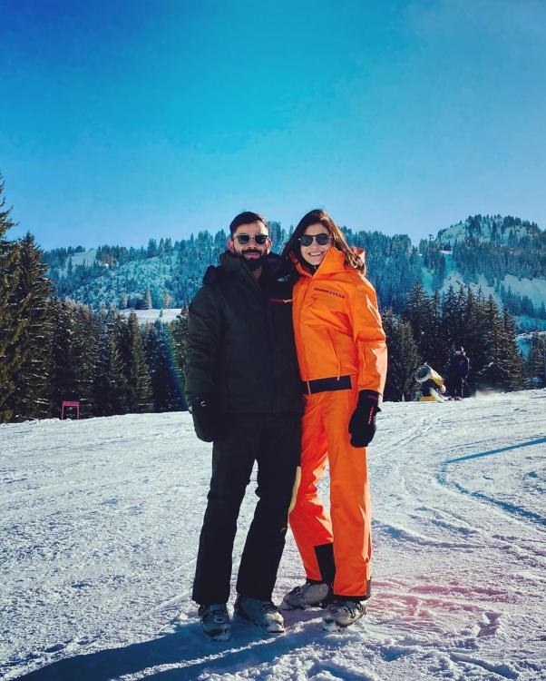 Anushka Sharma beats the cold in the most stylish way possible in a ski suit by Prada; Yay or Nay?