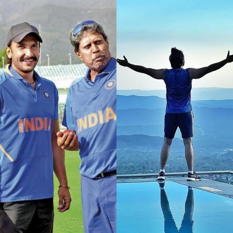 Ranveer Singh is at the top of the world as he begins training In Himachal Pradesh for his film '83; See post