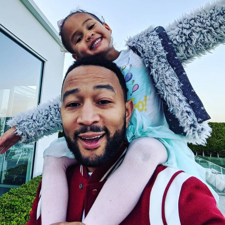 John Legend says he wants his daughter to be a little more competitive