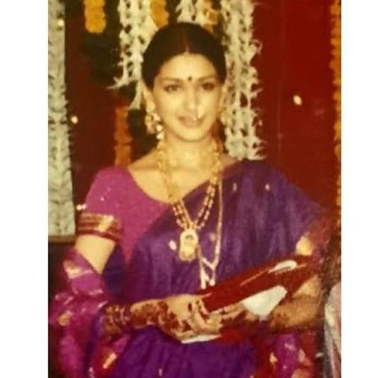Sonali Bendre shares a throwback picture of her on the occasion of Gudi Padwa