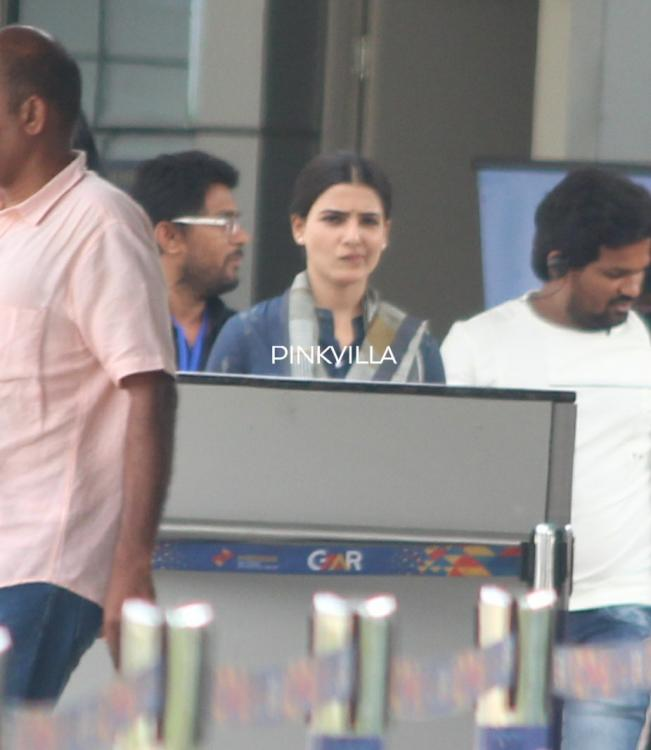 PHOTOS: Samantha Akkineni and Sharwanand spotted shooting for 96 Telugu remake at the Hyderabad airport