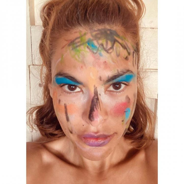Eva Mendes shows off her wild makeover given by her daughter