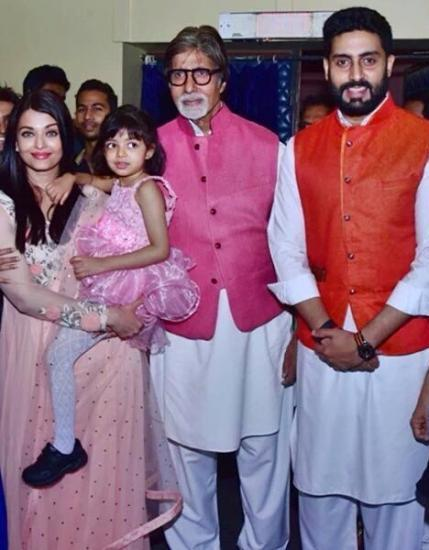As Abhishek Bachchan And Aishwarya Rai Celebrate Their 9th Anniversary Today Father Amitabh Cannot Help But Talk About The Special Day On