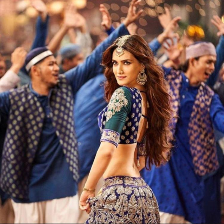 EXCLUSIVE: Kriti Sanon talks about working with Aditya Roy Kapur & Varun Dhawan in Kalank's Aira Gaira
