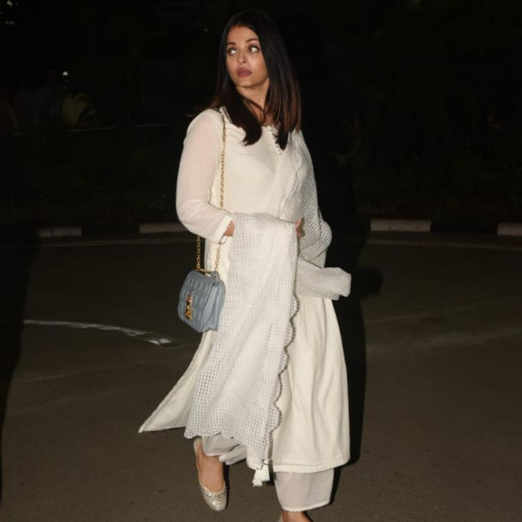 PHOTOS: Aishwarya Rai Bachchan gets snapped as she returns from her uncle's funeral