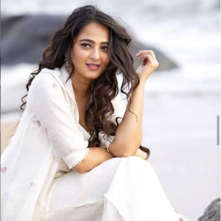 Baahubali actress Anushka Shetty is making heads turn in her white dress in these latest pictures