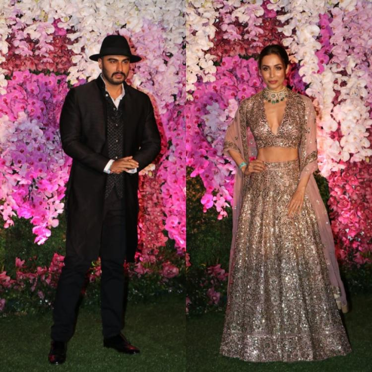 Arjun Kapoor and Malaika Arora amp up the the glam quotient at Shloka & Akash Ambani's reception; Check it