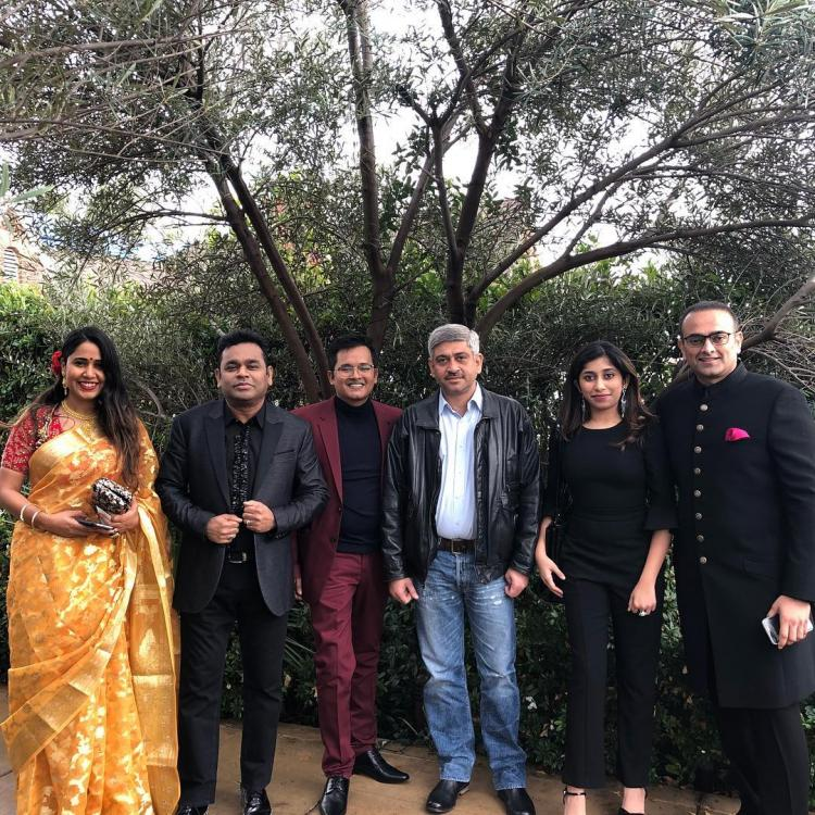 Grammy Awards 2019: AR Rahman with family attends the coveted awards show and we can't keep calm