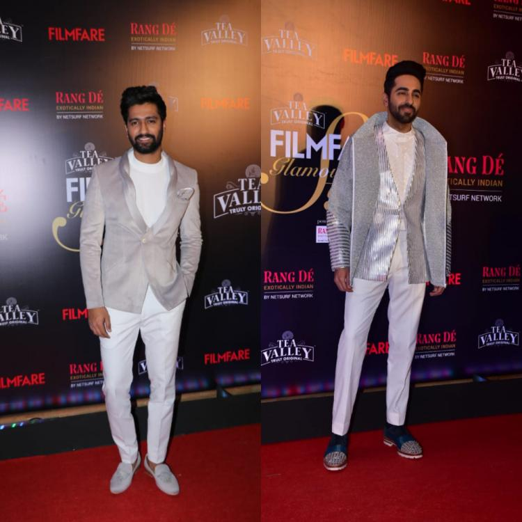 Filmfare Glamour and Style Awards: Ayushmann Khurrana, Vicky Kaushal and Kartik Aaryan slay it to their best