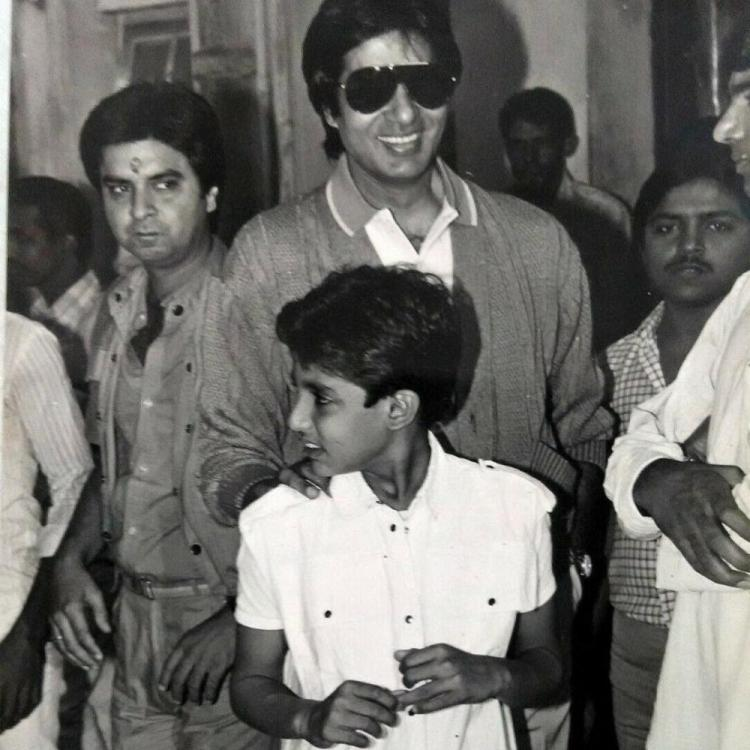Flashback Friday: Amitabh Bachchan & little Abhishek Bachchan remind us of the golden era in this UNSEEN pic
