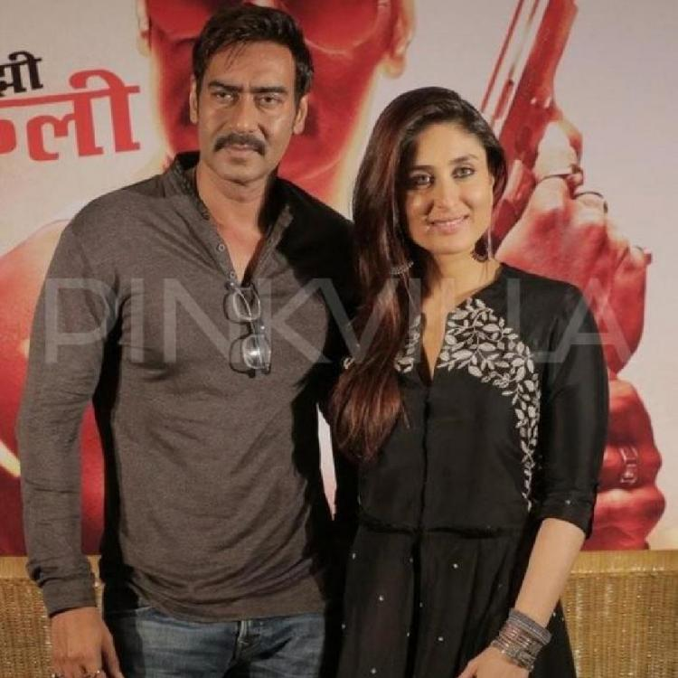 Did Kareena Kapoor Khan refuse to kiss Ajay Devgn in Prakash Jha's film Satyagraha for THIS reason?