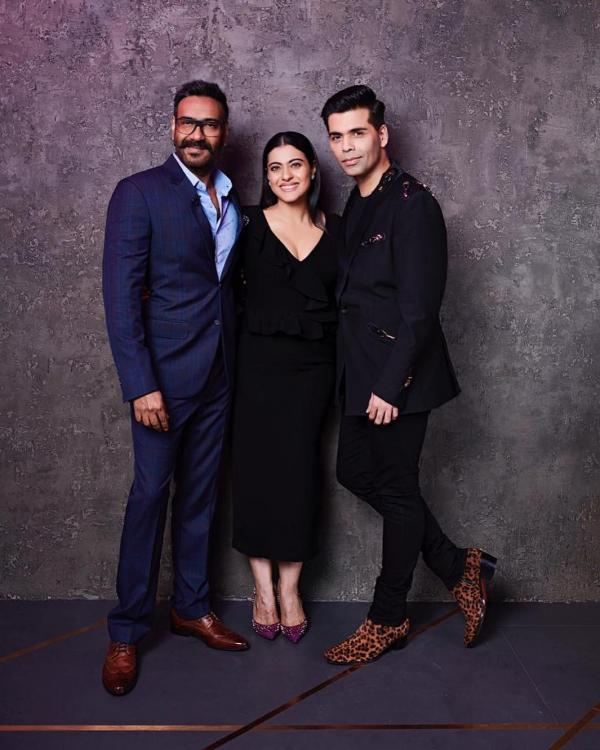 Video,kajol,Ajay Devgn,Koffee With Karan 6