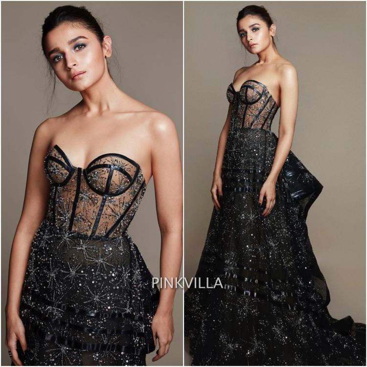 Alia Bhatt in Ralph and Russo Couture for Filmfare Awards 2019