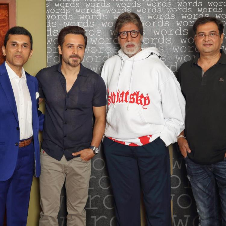 Amitabh Bachchan and Emraan Hashmi to share screen space for the first time in THIS movie